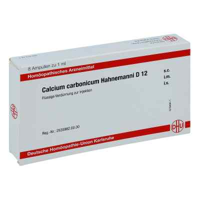 Calcium Carbonicum Hahnemanni D 12 Ampullen  bei apo-discounter.de bestellen