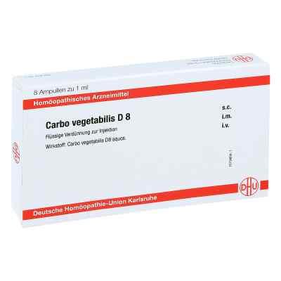 Carbo Vegetabilis D 8 Ampullen  bei apo-discounter.de bestellen