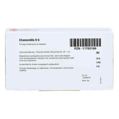 Chamomilla D 6 Ampullen  bei apo-discounter.de bestellen