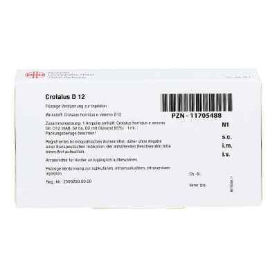 Crotalus D 12 Ampullen  bei apo-discounter.de bestellen