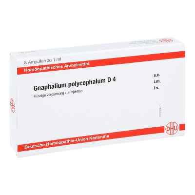 Gnaphalium Polycephalum D 4 Ampullen  bei apo-discounter.de bestellen
