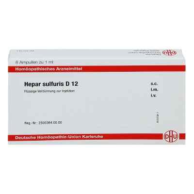 Hepar Sulfuris D 12 Ampullen  bei apo-discounter.de bestellen