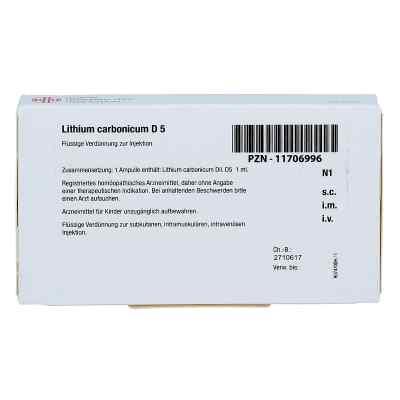 Lithium Carbonicum D 5 Ampullen  bei apo-discounter.de bestellen