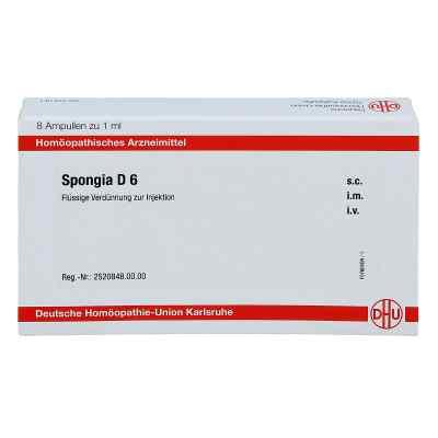 Spongia D 6 Ampullen  bei apo-discounter.de bestellen