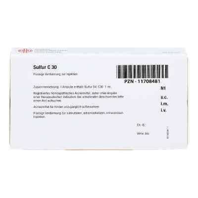 Sulfur C 30 Ampullen  bei apo-discounter.de bestellen