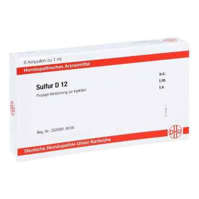 Sulfur D 12 Ampullen  bei apo-discounter.de bestellen