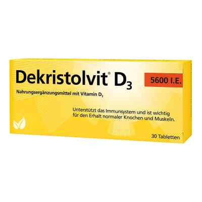 Dekristolvit D3 5.600 I.e. Tabletten  bei apo-discounter.de bestellen