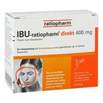 Ibu Ratiopharm direkt 400 mg Pulver zum Einnehmen  bei apo-discounter.de bestellen