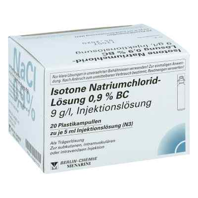 Isotone Nacl Lösung 0,9% Bc Plastik amp.inj.-lsg.
