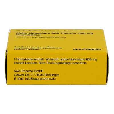Alpha Liponsäure Aaa Pharma 600 mg Filmtabletten  bei apo-discounter.de bestellen