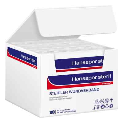 Hansapor steril Wundverband 8x10 cm  bei apo-discounter.de bestellen
