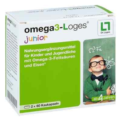 Omega 3-loges junior Kaudragees  bei apo-discounter.de bestellen
