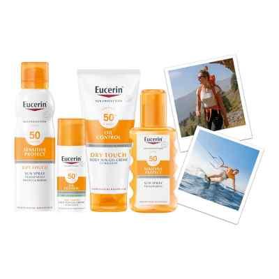 Eucerin Sun Sensitive Protect Spray Transparent Dry Touch LSF 50  bei apo-discounter.de bestellen