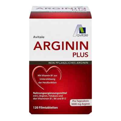 Arginin plus Vitamin B1+b6+b12+folsäure Filmtabletten  bei apo-discounter.de bestellen