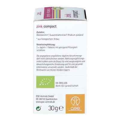 Zink Compact Bio Tabletten  bei apo-discounter.de bestellen