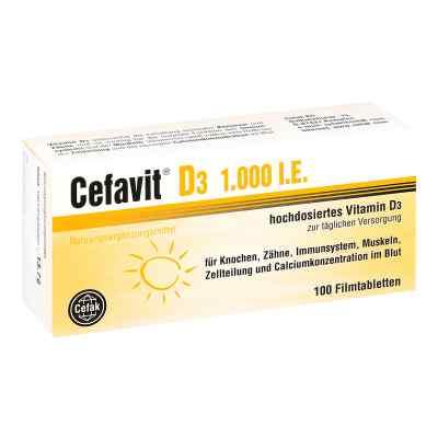 Cefavit D3 1.000 I.e. Filmtabletten  bei apo-discounter.de bestellen