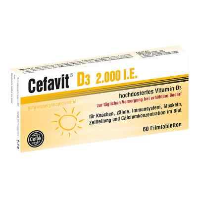 Cefavit D3 2.000 I.e. Filmtabletten  bei apo-discounter.de bestellen