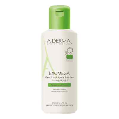 A-derma Exomega geschm.Reinigungsgel 2in1  bei apo-discounter.de bestellen