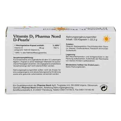 Vitamin D3 Pharma Nord D-pearls Kapseln  bei apo-discounter.de bestellen