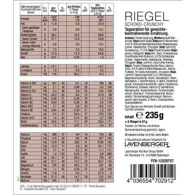 Layenberger diet5 Riegel Schoko-crunchy  bei apo-discounter.de bestellen