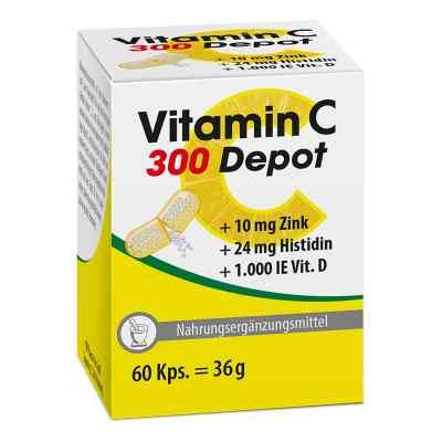 Vitamin C 300 Depot+zink+histidin+d Kapseln  bei apo-discounter.de bestellen