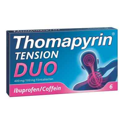 Thomapyrin TENSION DUO 400mg/100mg mit Coffein & Ibuprofen  bei apo-discounter.de bestellen