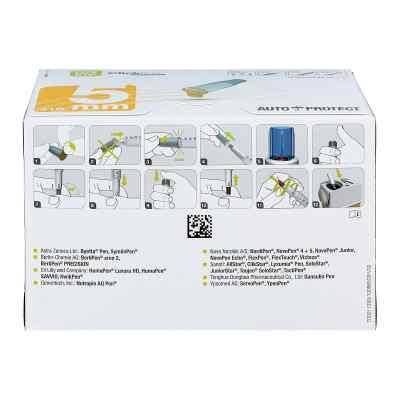 Clickfine Autoprotect Pen-nadeln 5 mm 31 G  bei apo-discounter.de bestellen