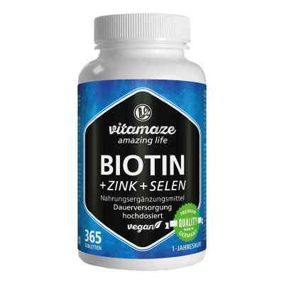 Vitamaze Biotin 10 mg hochdosiert+Zink+Selen  bei apo-discounter.de bestellen