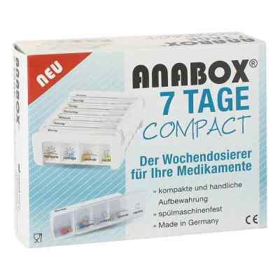 Anabox 7 Tage Compact Wochendosierer weiss  bei apo-discounter.de bestellen