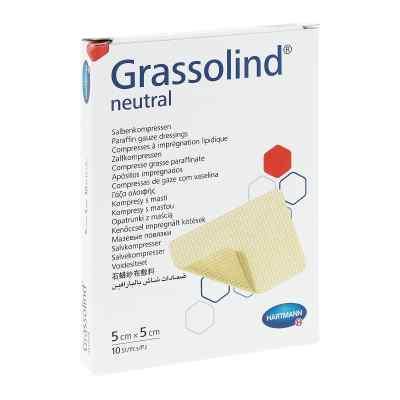Grassolind Salbenkompressen 5x5 cm steril  bei apo-discounter.de bestellen
