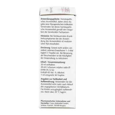 Ceres Cichorium intybus radix Urtinktur  bei apo-discounter.de bestellen
