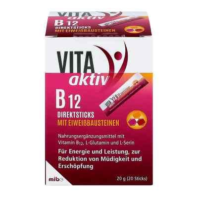 Vita Aktiv B12 Direktsticks mit Eiweissbausteinen  bei apo-discounter.de bestellen