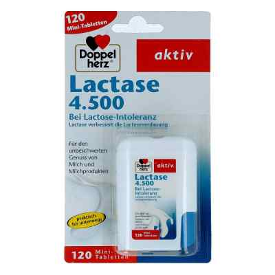 Doppelherz Lactase 4.500 Tabletten  bei apo-discounter.de bestellen