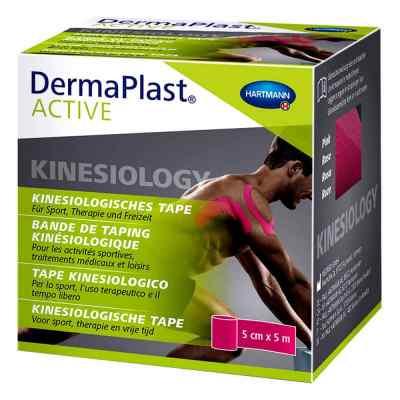 Dermaplast Active Kinesiology Tape 5 cmx5 m pink  bei apo-discounter.de bestellen