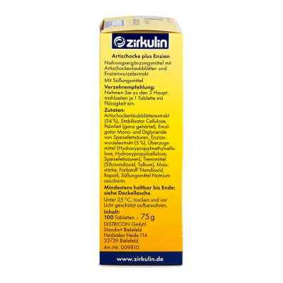 Zirkulin Artischocke plus Enzian Tabletten  bei apo-discounter.de bestellen