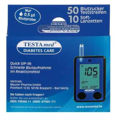 Testamed Glucocheck Advance Teststreif.m.10 Lanz.  bei apo-discounter.de bestellen