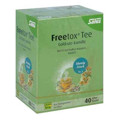 Freetox Tee Goldrute-kamille Bio Salus Filterbeut.  bei apo-discounter.de bestellen