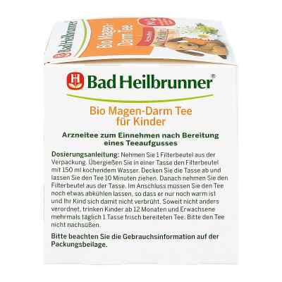 Bad Heilbrunner Bio Magen-darm Tee für Kinder  Fbtl.  bei apo-discounter.de bestellen
