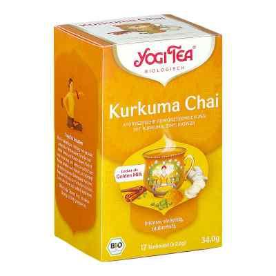 Yogi Tea Kurkuma Chai Bio Teebeutel  bei apo-discounter.de bestellen