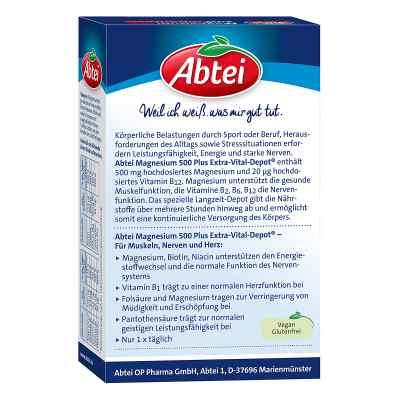 Abtei Magnesium 500 Plus Extra-vital-depot Tabletten   bei apo-discounter.de bestellen