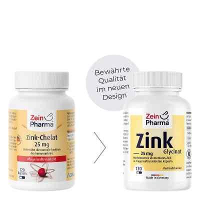 Zink Chelat 25 mg in magensaftresist.veg.Kaps.  bei apo-discounter.de bestellen