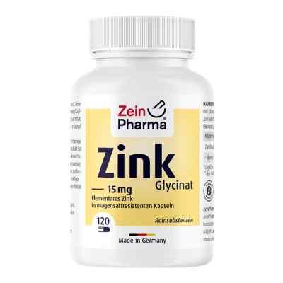 Zink Chelat 15 mg in magensaftresist.veg.Kaps.  bei apo-discounter.de bestellen