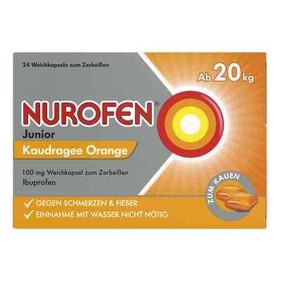 Nurofen Junior Kaudragee Orange 100 mg  bei apo-discounter.de bestellen