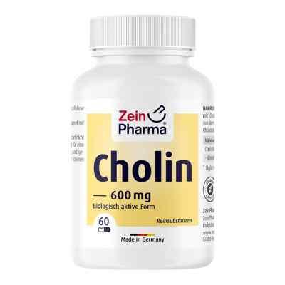 Cholin 600 mg rein aus Bitartrat veg.Kapseln  bei apo-discounter.de bestellen