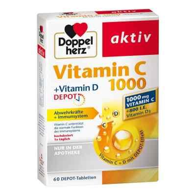 Doppelherz aktiv Vitamin C 1000+vitamin D Depot  bei apo-discounter.de bestellen