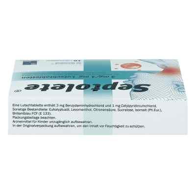 Septolete 3 mg/1 mg Lutschtabletten  bei apo-discounter.de bestellen