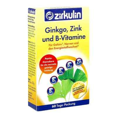 Zirkulin Ginkgo Zink und B-vitamine Filmtabletten  bei apo-discounter.de bestellen