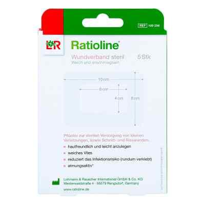 Ratioline Wundverband 10x8 cm steril  bei apo-discounter.de bestellen