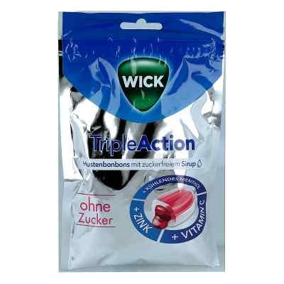 Wick Tripleaction Menthol & Cassis ohne Zucker  Bon.  bei apo-discounter.de bestellen