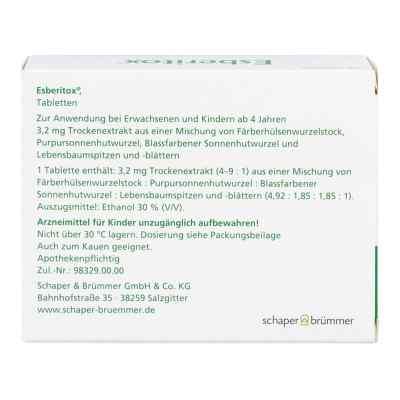 Esberitox Tabletten  bei apo-discounter.de bestellen